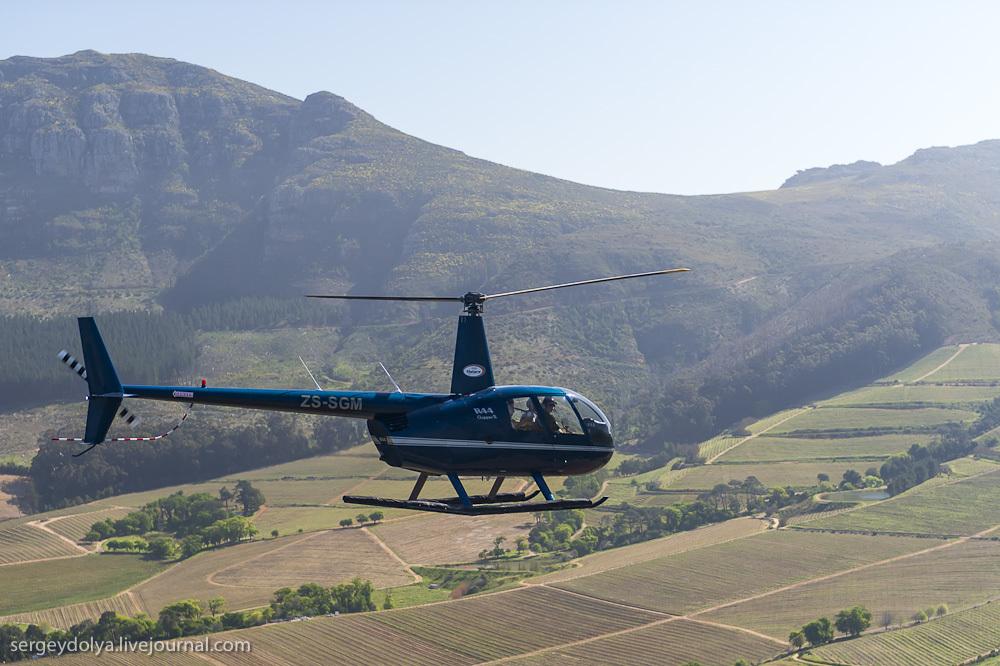 Кейптаун и его Столовая гора