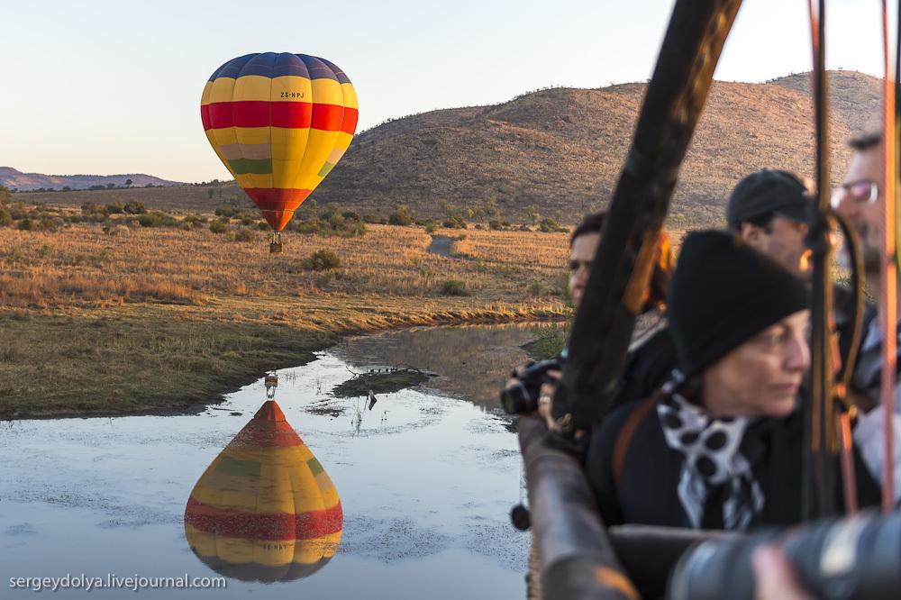 Африканское сафари на воздушном шаре