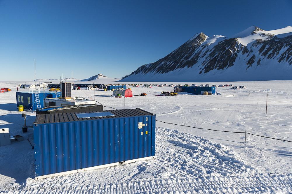 Южный полюс. Палаточный лагерь на Антарктиде. Часть 2