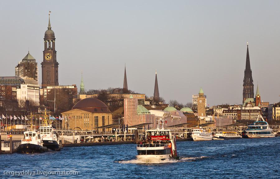 Гамбург, порты и улицы