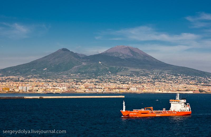 Везувий считается одним из самых опасных вулканов мира