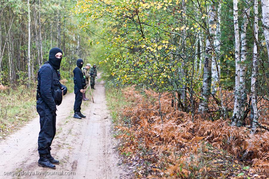 Как ищут людей в лесу (35 фото + текст) .