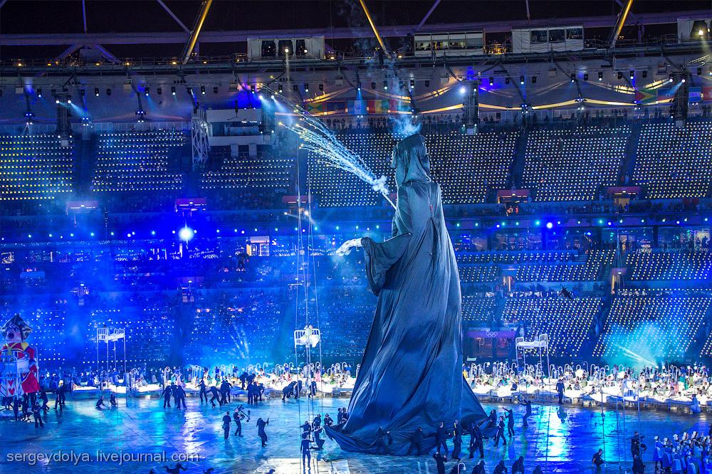 Открытие Олимпиады 2012. Часть 1