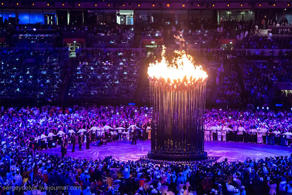 Открытие Олимпиады 2012. Часть 2