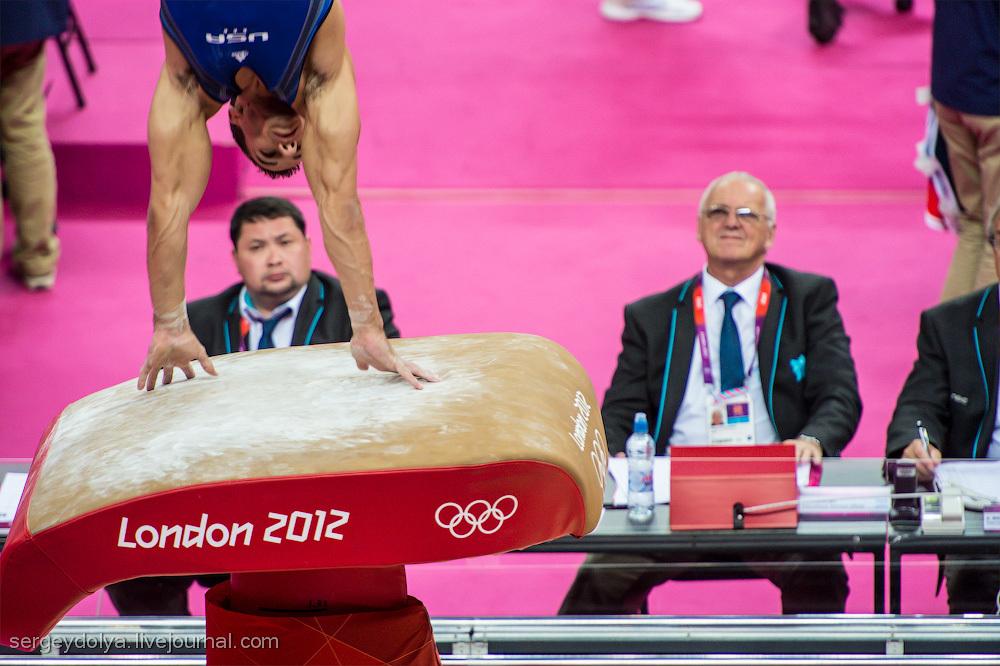 Олимпиада в Лондоне. Спортивная гимнастика и плавание