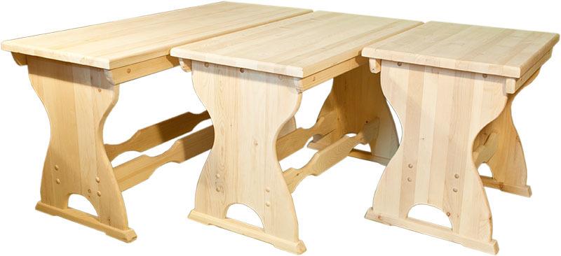 Столы различных размеров