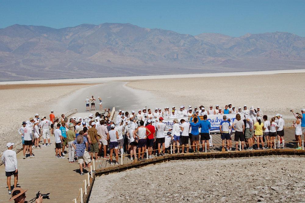 Труднейший беговой ультрамарафон по Долине Смерти
